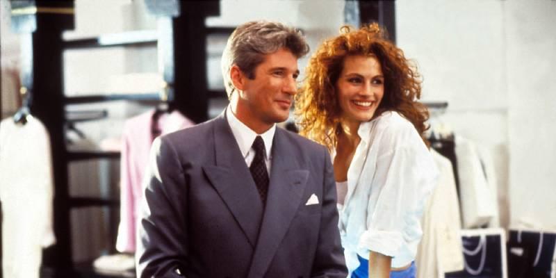 Красотка (кадр из фильма).