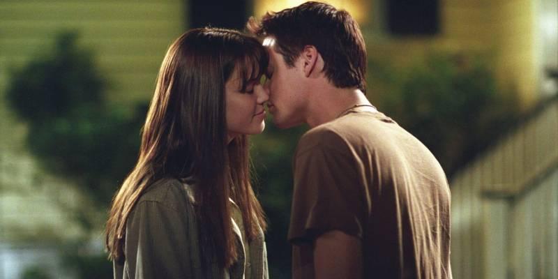 Спеши любить (кадр из фильма).