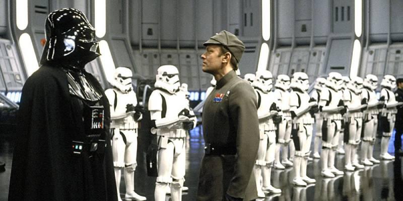 Звездные Войны (кадр из фильма).